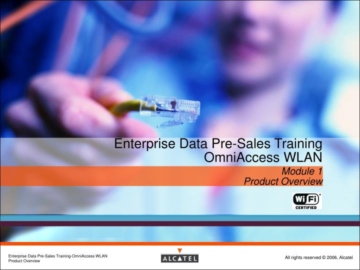 Enterprise data pre sales training omniaccess wlan