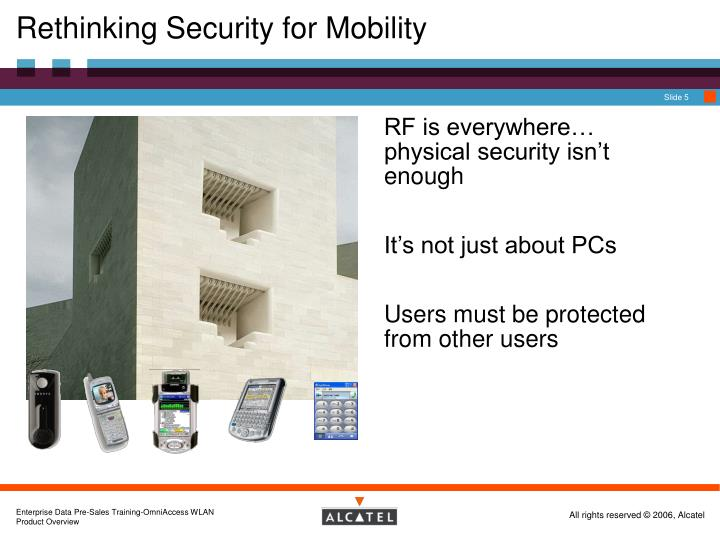 Rethinking Security for Mobility