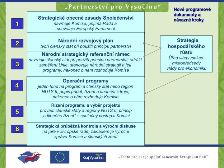 Strategické obecné zásady Společenství