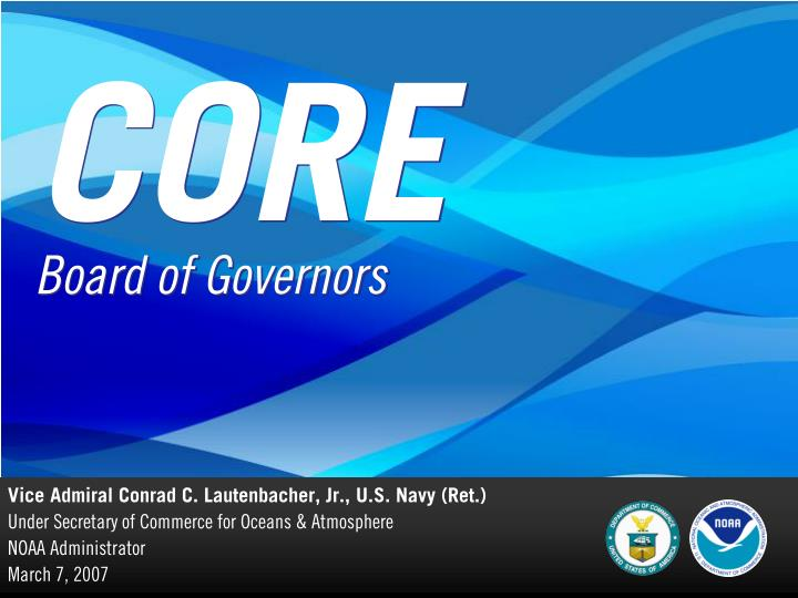 Core board of governors