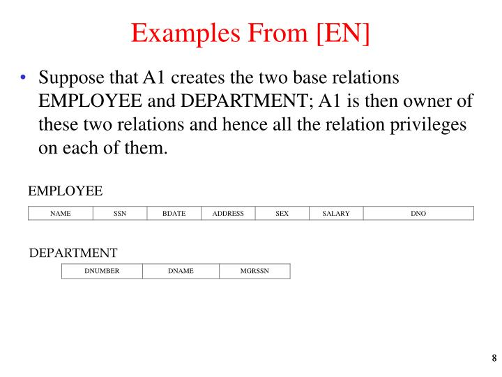 Examples From [EN]