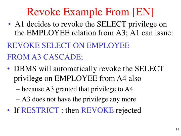 Revoke Example From [EN]