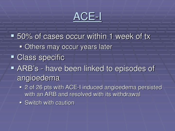 ACE-I