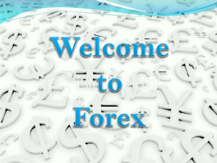Forex introduction ppt
