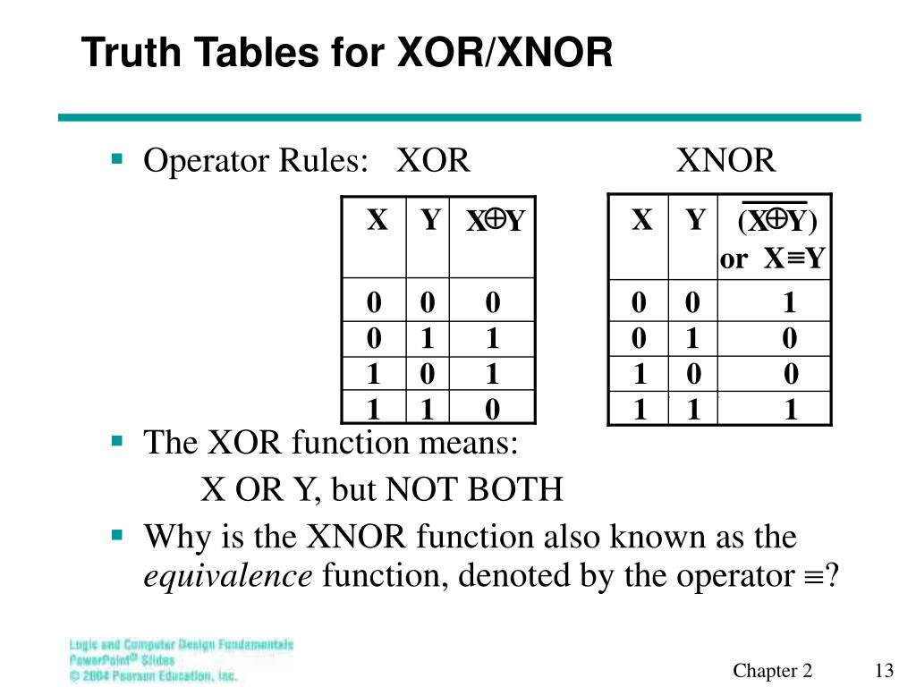 And Or Nand Nor Xor Xnor ppt - lecture 10 – other gate types powerpoint presentation