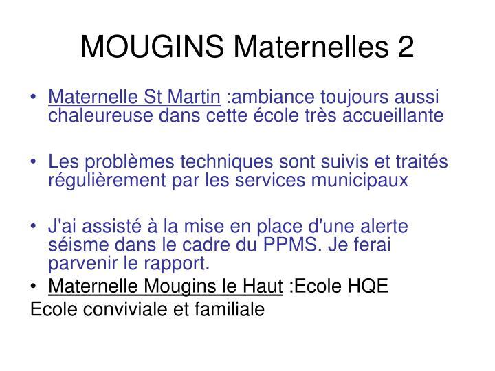 MOUGINS Maternelles 2