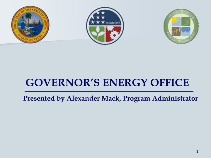 governor s energy office n.