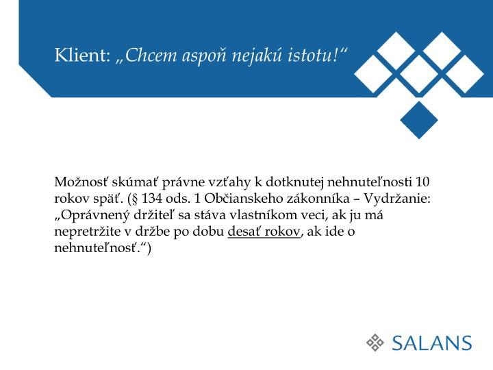 Klient: