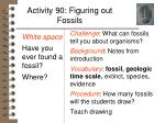 activity 90 figuring out fossils