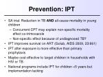 prevention ipt