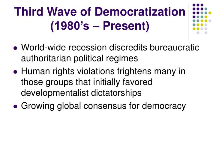 Third Wave of Democratization
