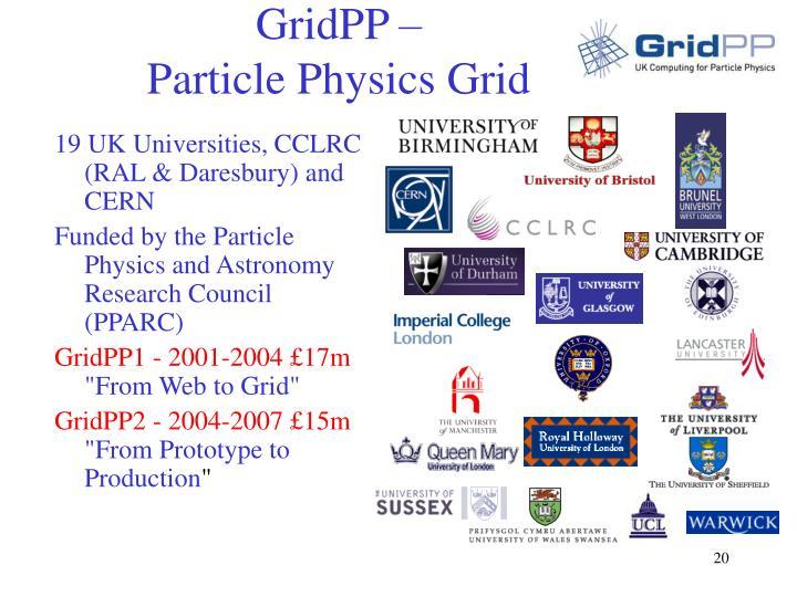 GridPP –