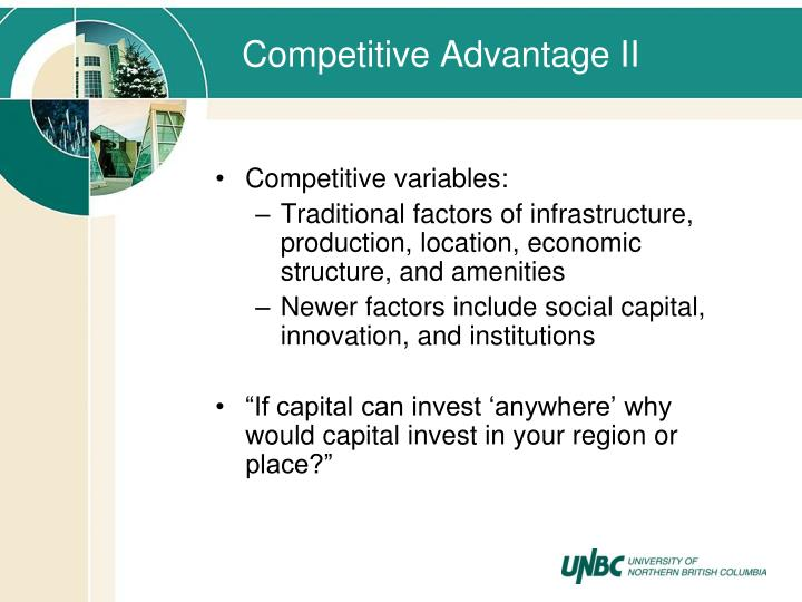 Competitive Advantage II