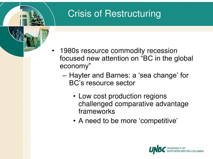 Crisis of Restructuring