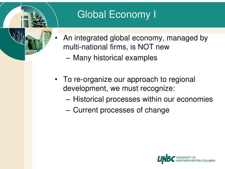 Global Economy I