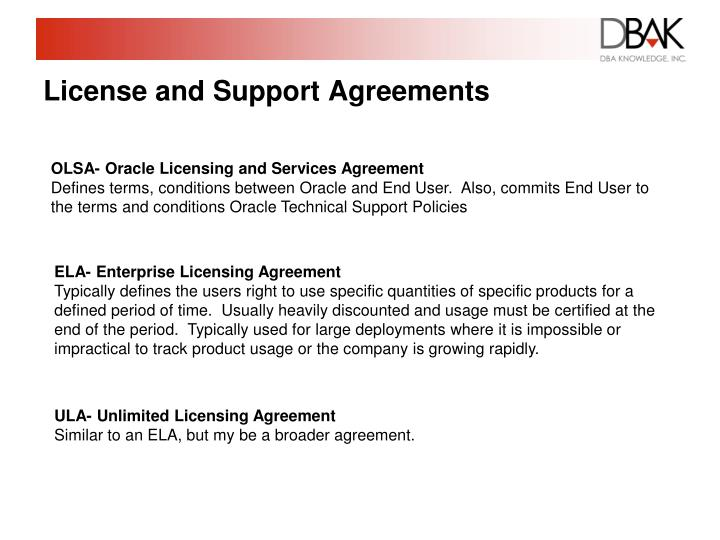 Ppt Optimizing Oracle Licensing An Oracle Primmer Powerpoint