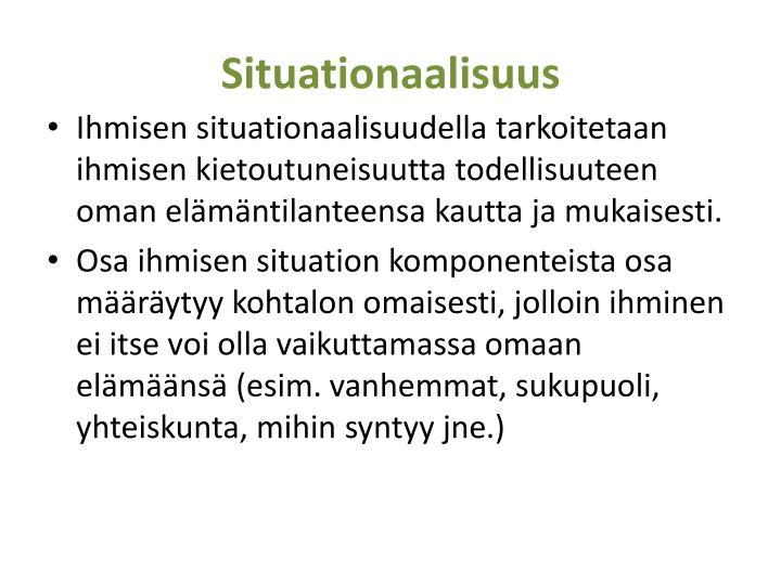 Situationaalisuus