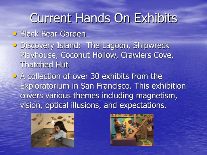 Current Hands On Exhibits