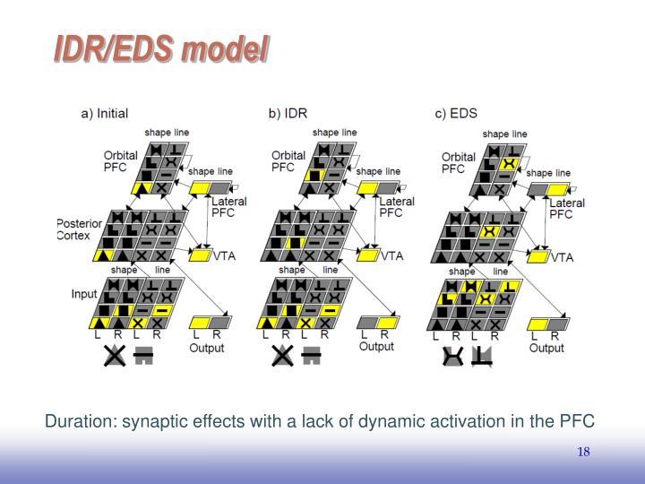 IDR/EDS model