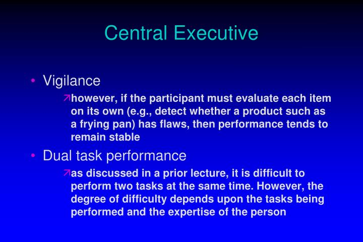 Central Executive