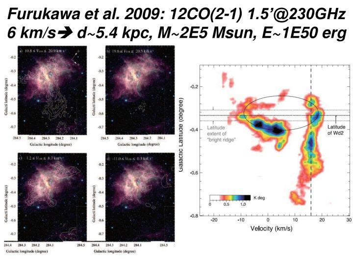 Furukawa et al. 2009: 12CO(2-1) 1.5'@230GHz