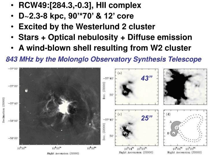 RCW49:[284.3,-0.3], HII complex