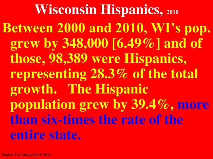 Wisconsin Hispanics,