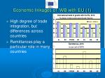 economic linkages of wb with eu 1