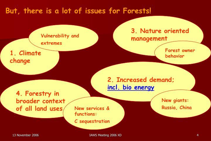 Forest owner behavior