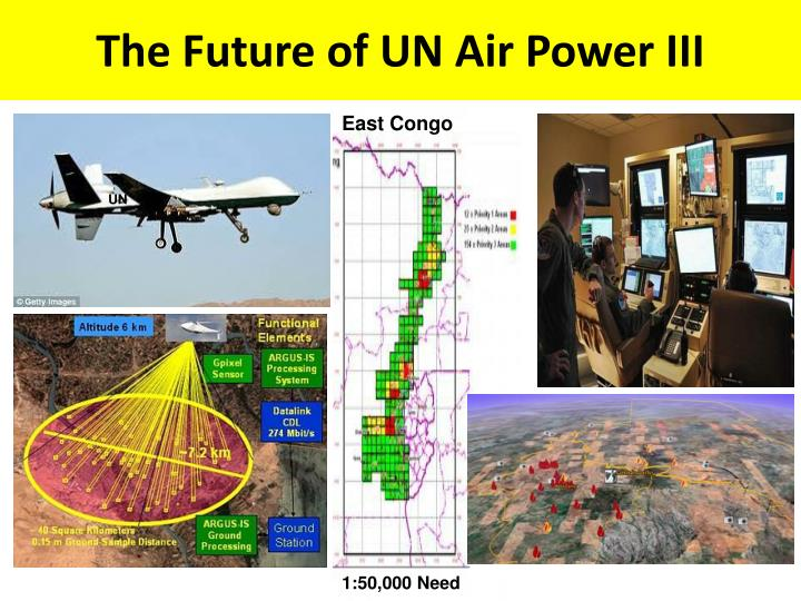 The Future of UN Air Power III