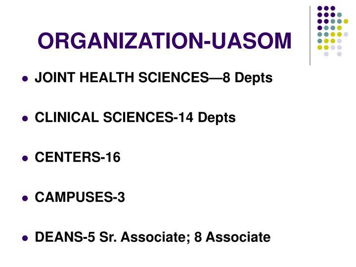 ORGANIZATION-UASOM