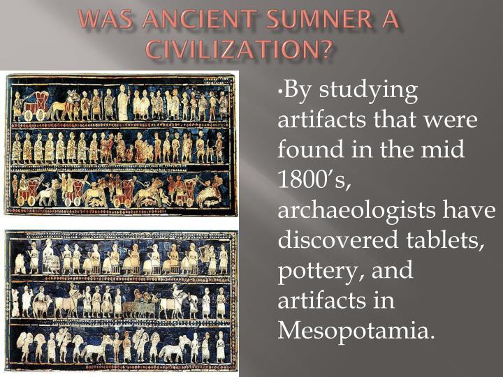 Was ancient sumner a civilization