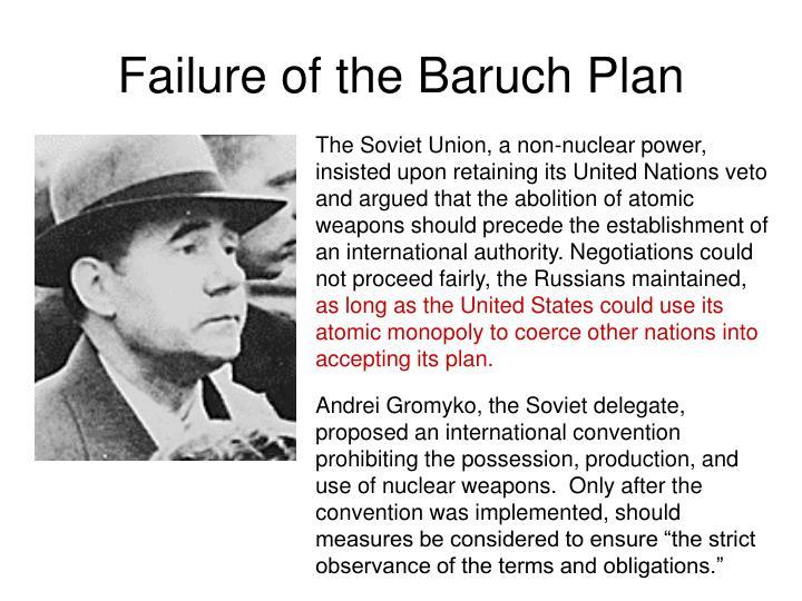 Failure of the Baruch Plan