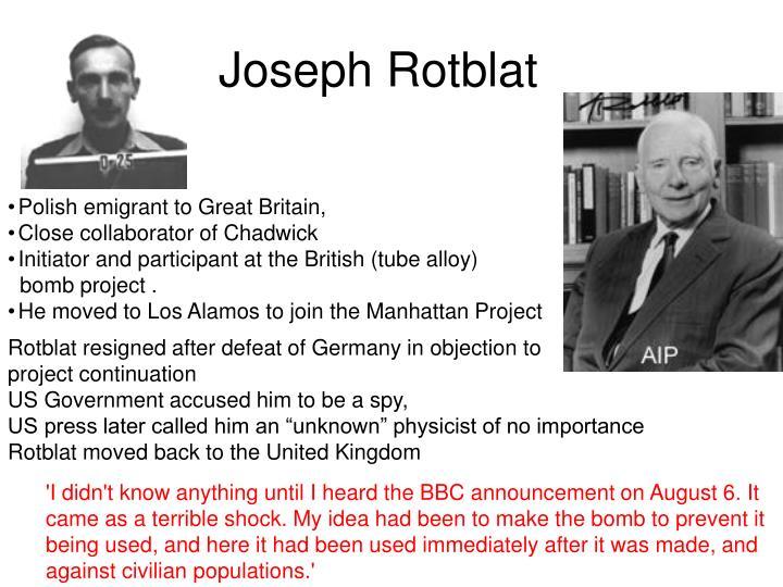 Joseph rotblat