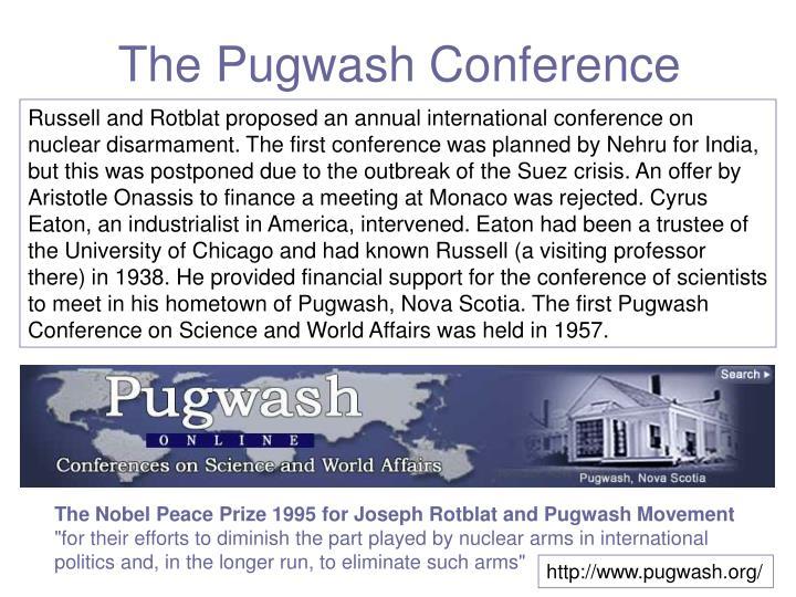 The Pugwash Conference