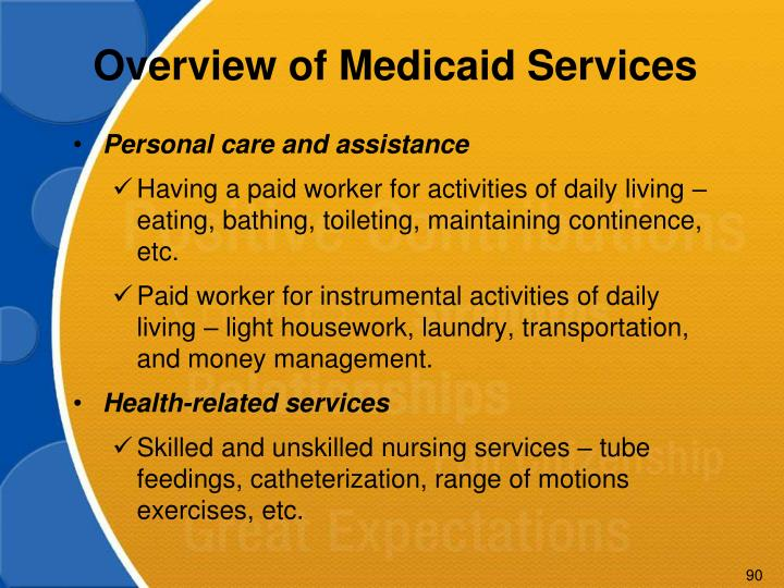 Overview of Medicaid Services
