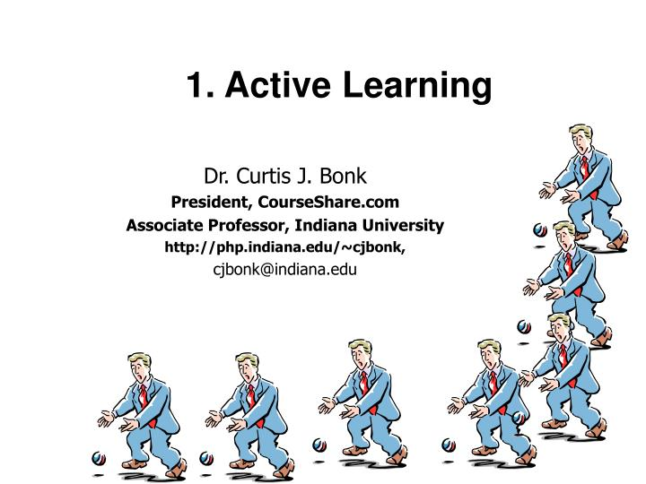 1 active learning n.