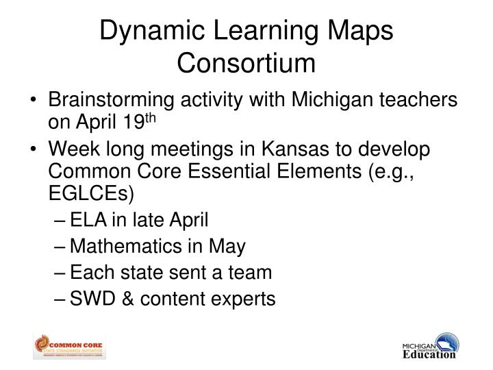 Dynamic Learning Maps Consortium