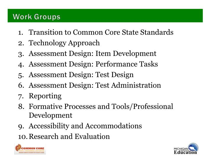 Transition to Common Core State Standards
