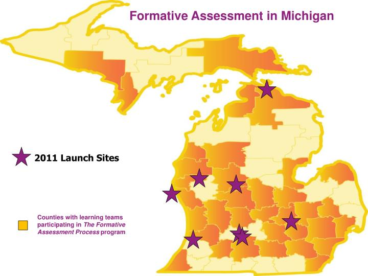 Formative Assessment in Michigan
