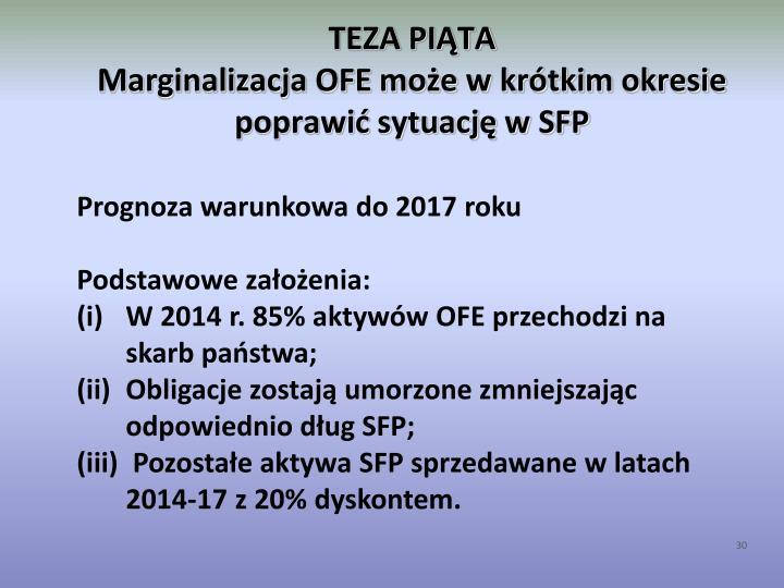 TEZA PIĄTA