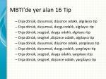 mbti de yer alan 16 tip1