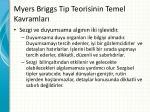 myers briggs tip teorisinin temel kavramlar2