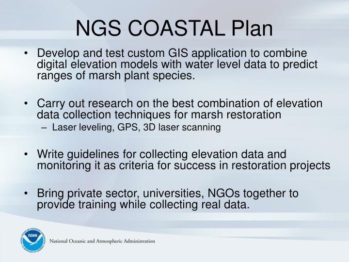NGS COASTAL Plan