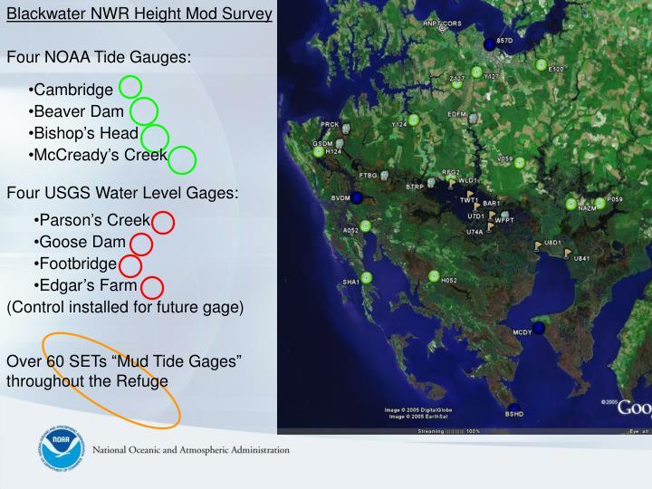 Blackwater NWR Height Mod Survey