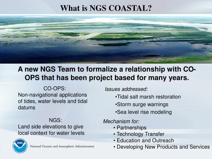 What is NGS COASTAL?