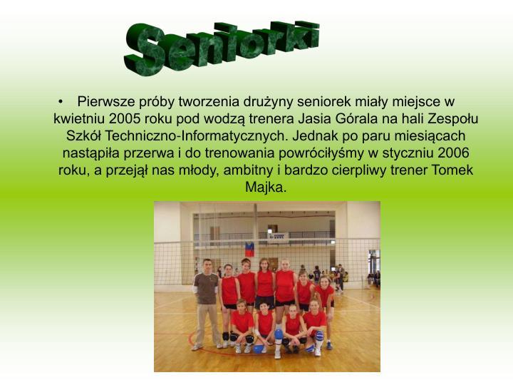 Seniorki