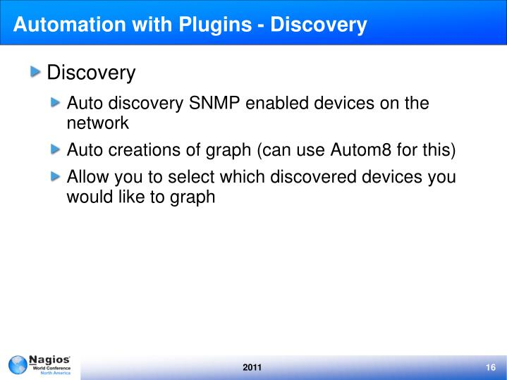 Automation with Plugins - Discovery
