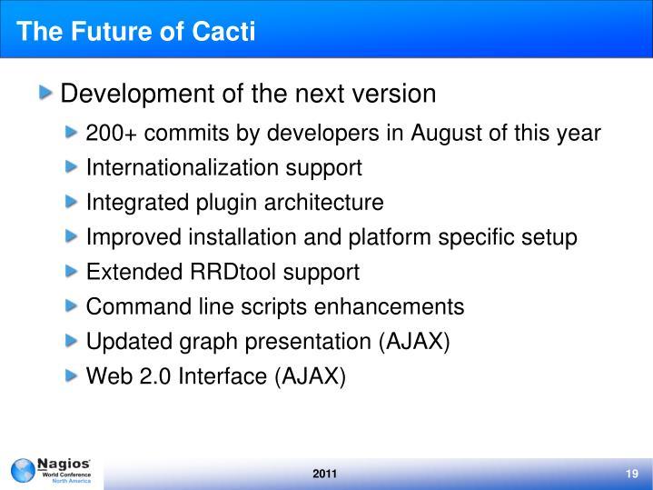 The Future of Cacti