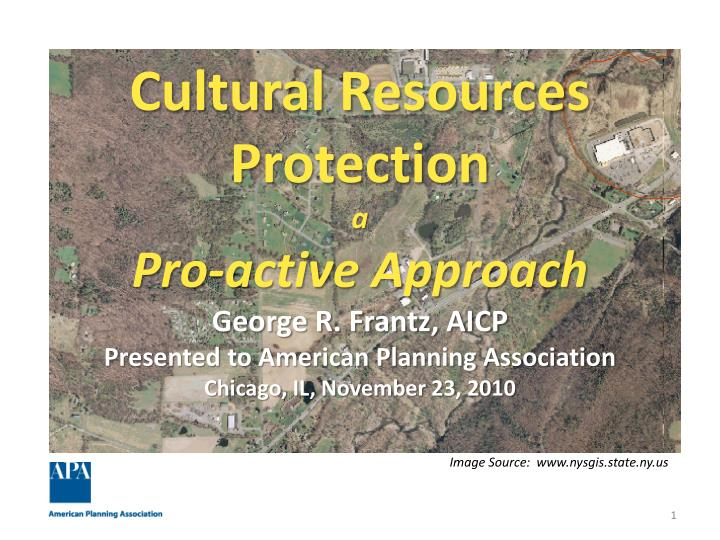 Cultural Resources Protection